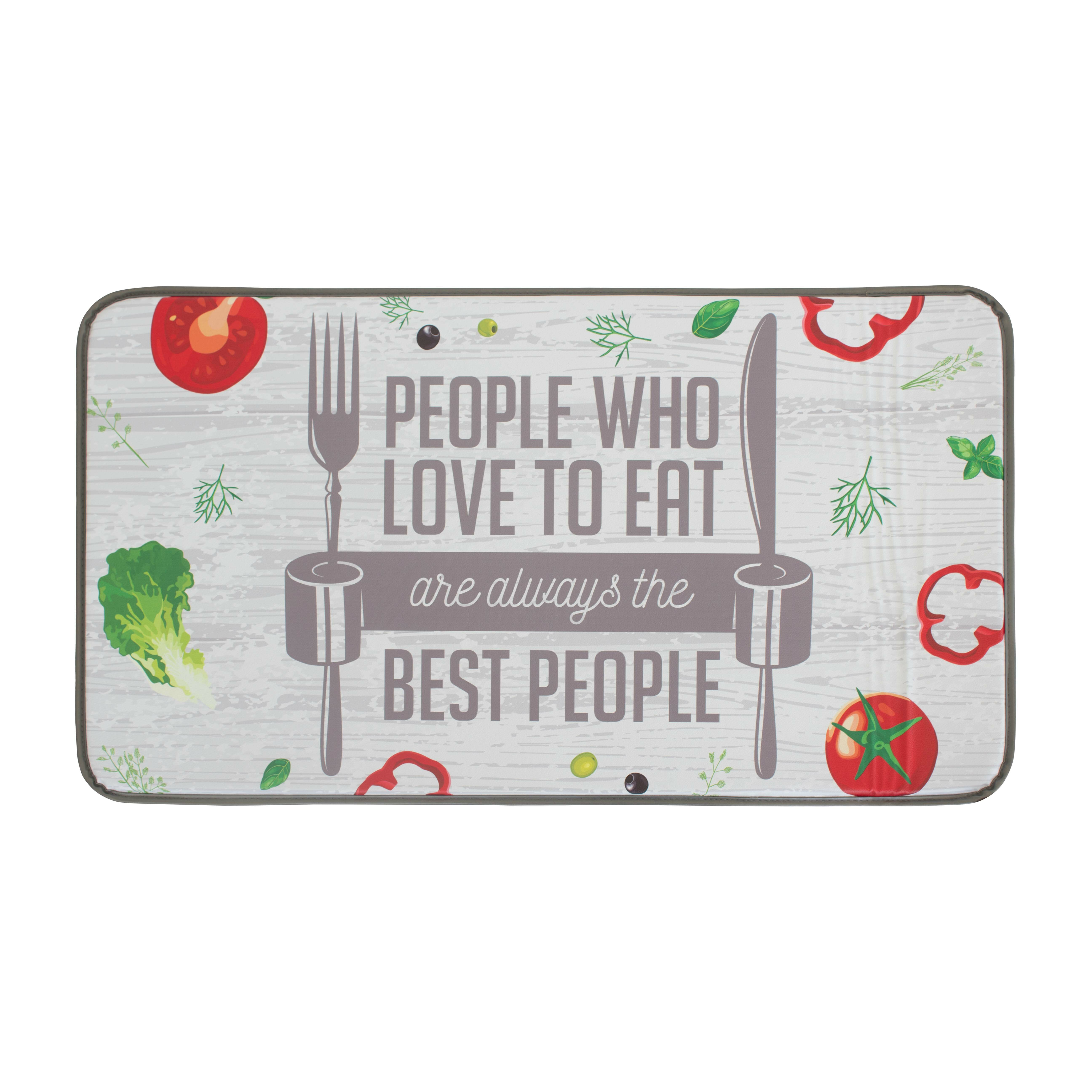 Chef Gear The Best People Anti Fatigue Kitchen Mat | Wayfair