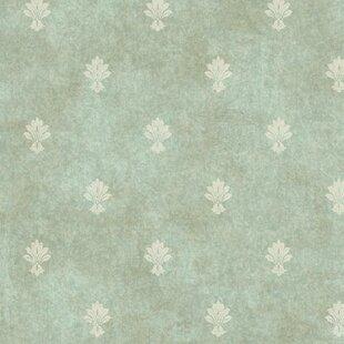 Hinds 27 X 27 Fleur De Lis Wallpaper