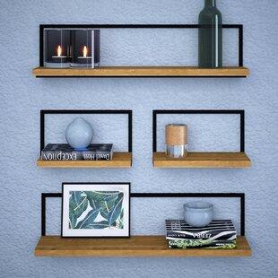 Celestiel 4 Piece Floating Shelf Set By Ebern Designs