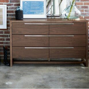 Bazemore 6 Drawer Double Dresser
