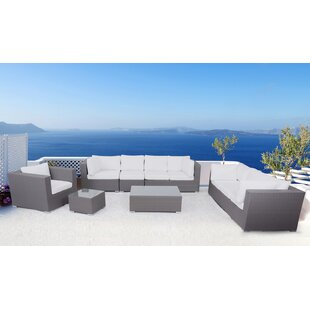 Velago Maxima 5 Piece Sectional Set with Cushions