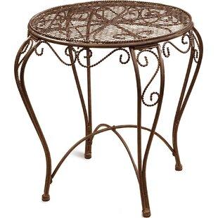 Metal Side Table by Deer Park Ironworks