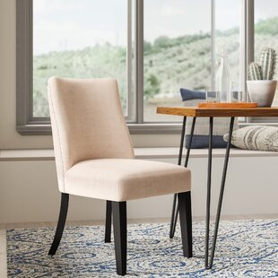 Winschoten Upholstered Dining Chair (Set of 2) Mistana