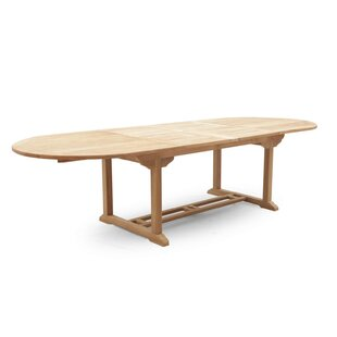 Henricks Extendable Teak Dining Table Image