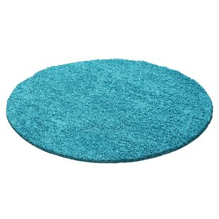 Hammons Turquoise Indoor / Outdoor Rug By Rosdorf Park