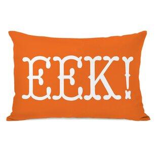 EEK Text Lumbar Pillow