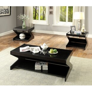 Ivy Bronx Hagood 3 Piece Coffee Table Set