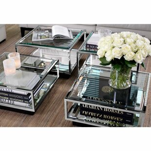 Tortona 4 Piece Coffee Table Set