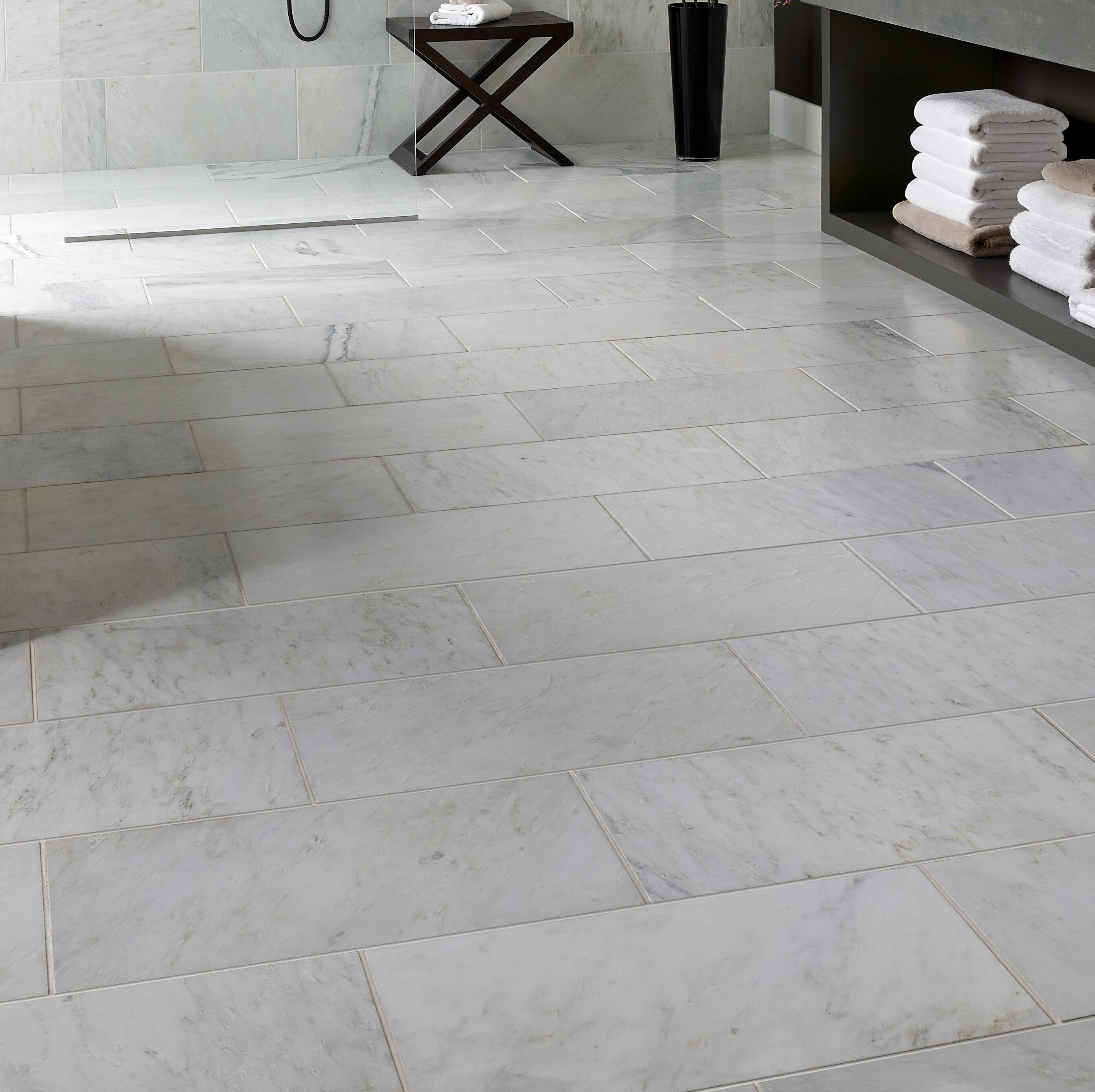 Msi Carrara 12 X 24 Marble Look Wall