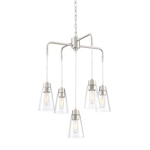 Ivy Bronx Irina 5-Light Shaded Chandelier