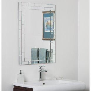 Top Reviews Grand Street Bathroom Wall Mirror ByDecor Wonderland