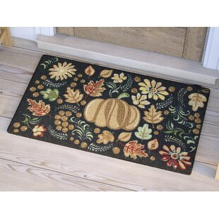 Find the perfect Havest Tapestry Black Area Rug By The Holiday Aisle
