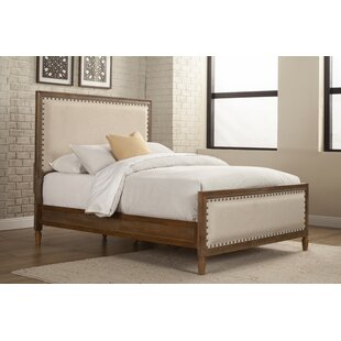 Shirke King Upholstered Panel Bed by One Allium Way 2019 Sale