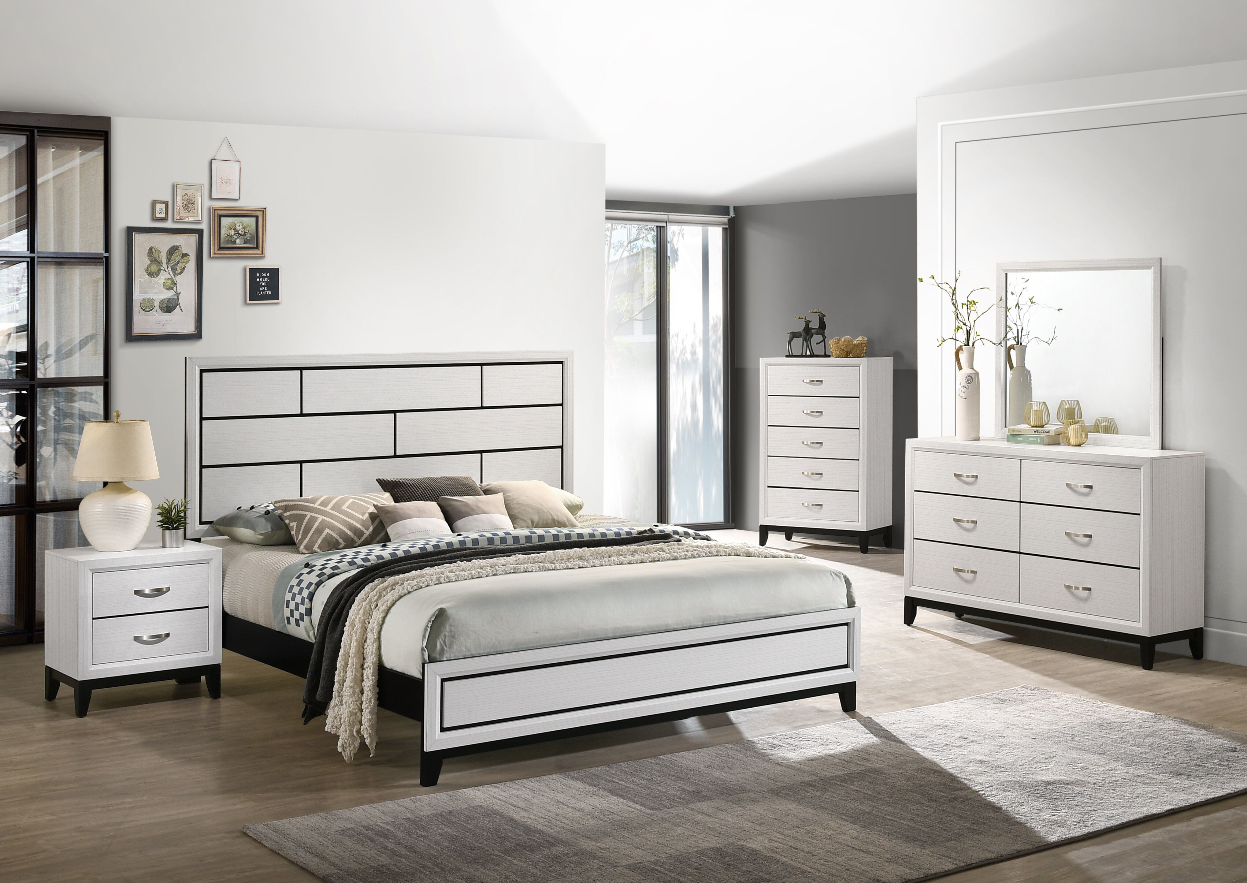 Latitude Run Standard 5 Piece Bedroom Set Wayfair
