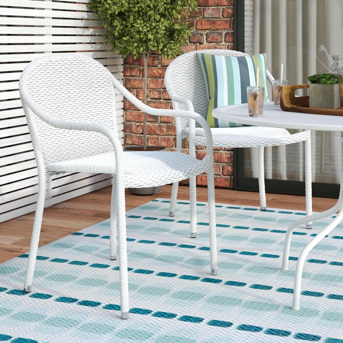 Outstanding Belton Stacking Patio Dining Chair Camellatalisay Diy Chair Ideas Camellatalisaycom