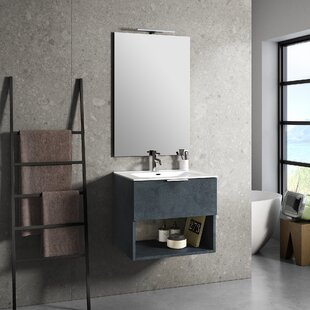 Bainter 610mm Wall Hung Single Vanity Unit By Brayden Studio