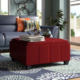 Cline Storage Ottoman by Wade Logan