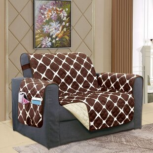 Reversible Furniture Protector Box Cushion Armchair Slipcover By Winston Porter