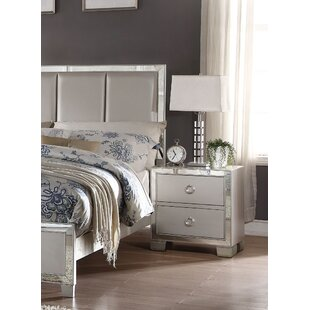 Rosdorf Park Hester 2 Drawer Nightstand