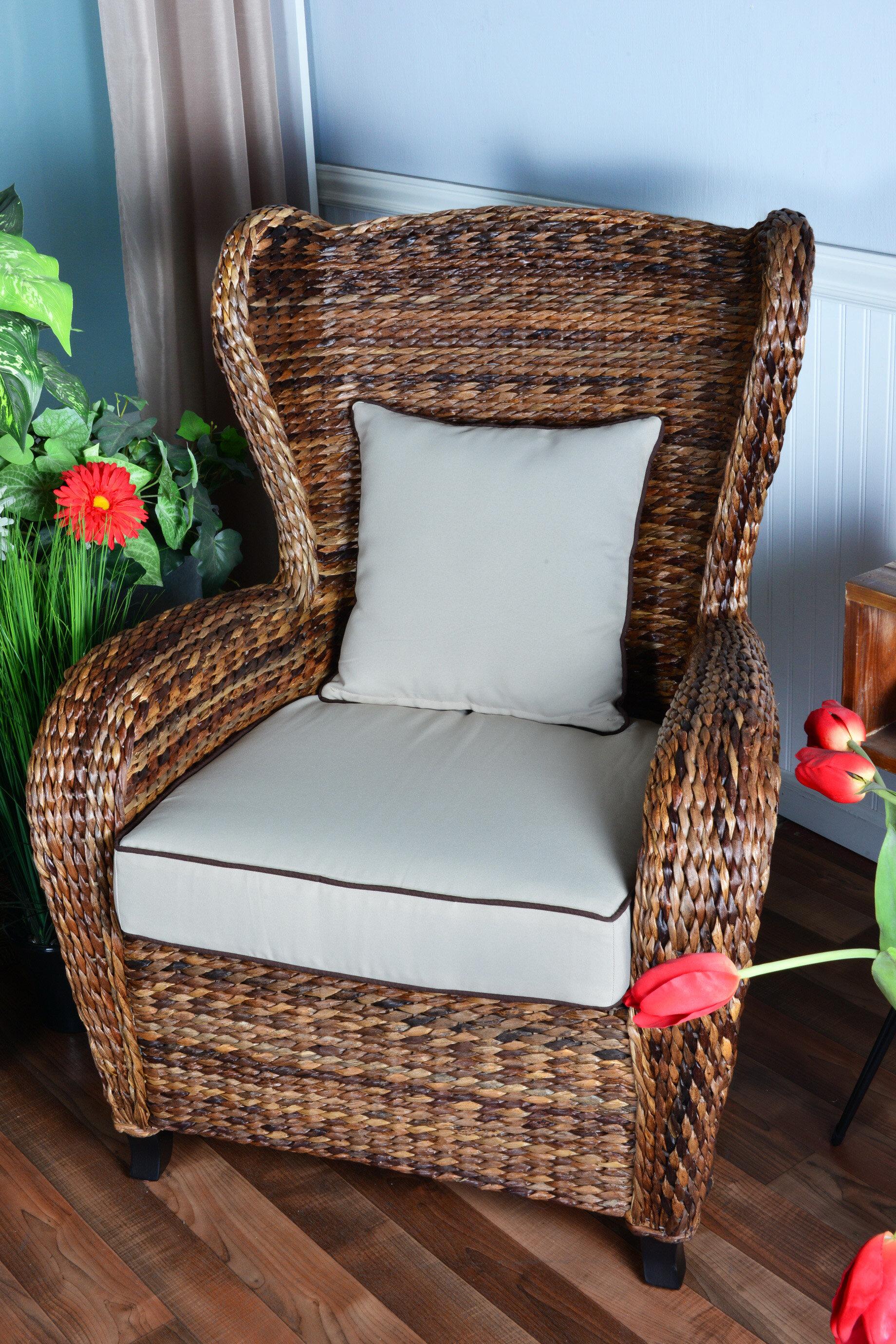 bayou breeze averi traditional indoor outdoor rattan rolled