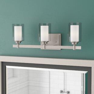 Bargain Edwina 3-Light Vanity Light By Charlton Home