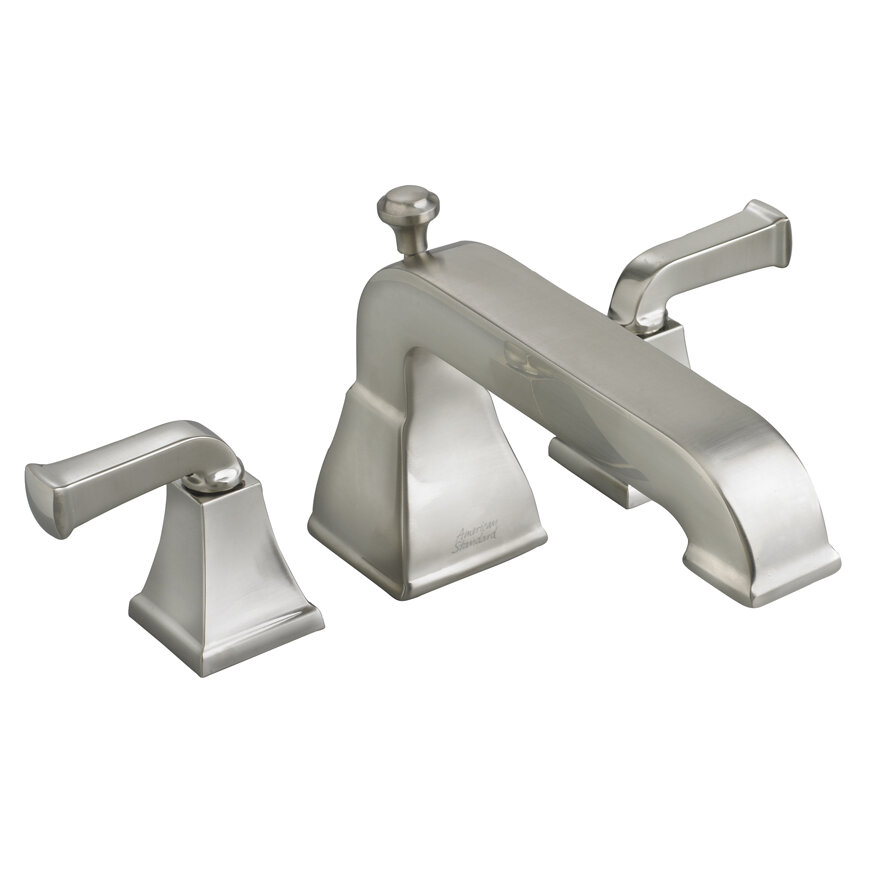 American Standard Town Square Double Handle Deck Mounted Roman Tub Faucet Wayfair