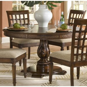 Baltimore Round Pedestal Dining Table by Bay Isle Home