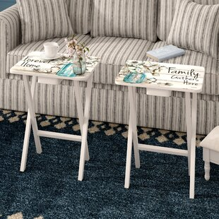 Jimmy Forever Home 2 Piece Tray Table Set August Grove