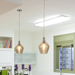 Lane 1-Light Teardrop Pendant by Ove Decors