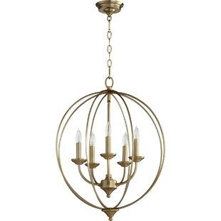 Lark Manor Harnois 5-Light Pendant