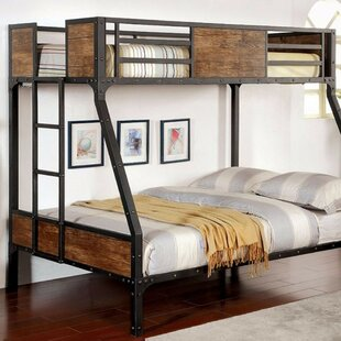 Fennell Twin Over Full Bunk Bed by Harriet Bee