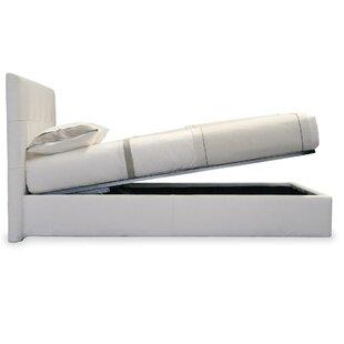 Calligaris Storage Queen Upholstered Platform Bed