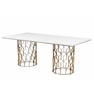 Lavine Dining Table Everly Quinn