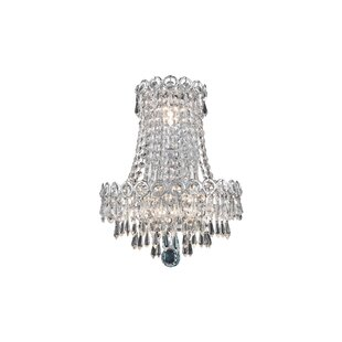 Zoila 3-Light Crystal Wall Sconce by Hous..