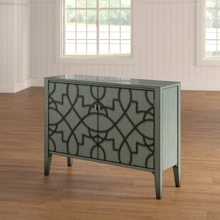 One Allium Way Bernard 2 Door Accent Cabinet