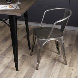 Galvanized Metal Dining Chairs Wayfair