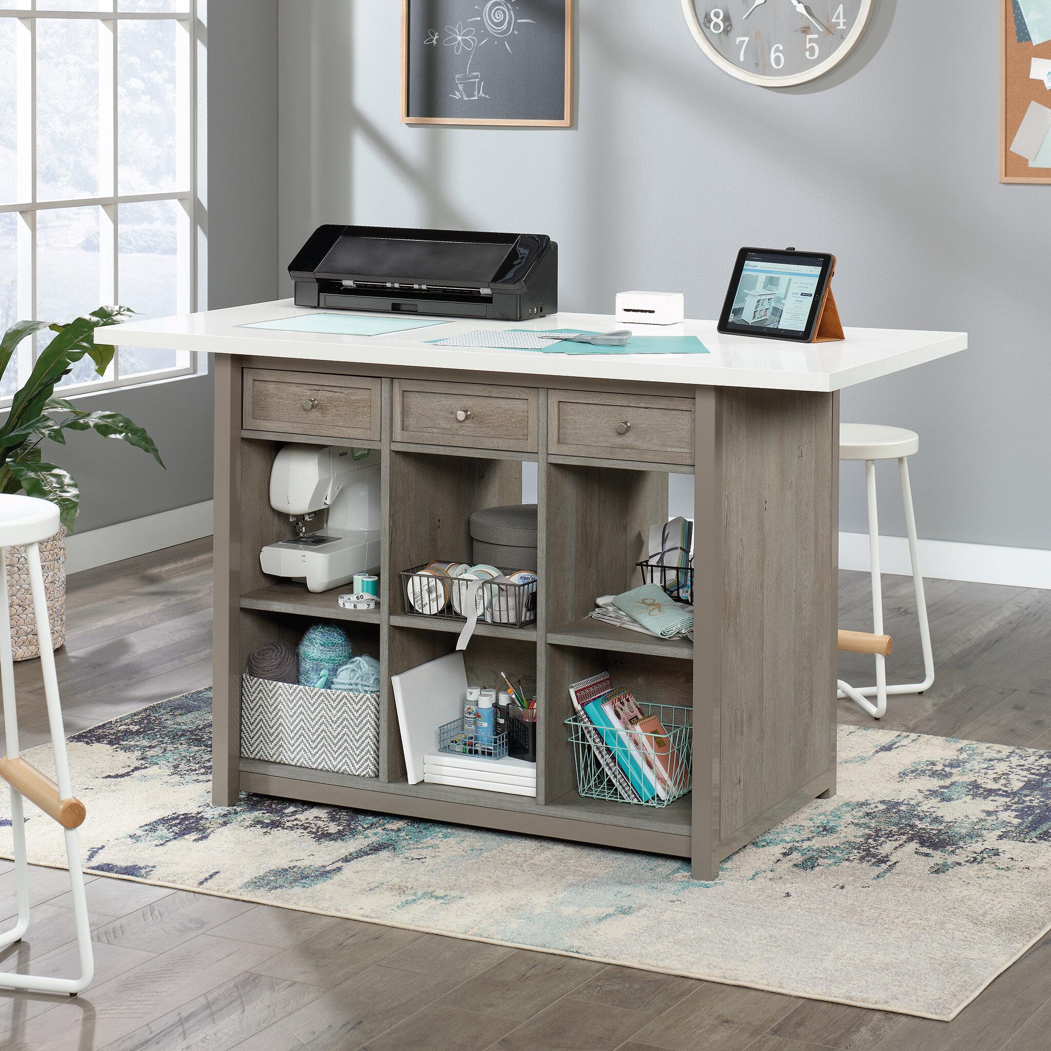 Sauder 60 X 30 Craft Table Reviews Wayfair