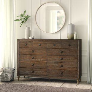 Knollwood 12 Drawer Double Dresser