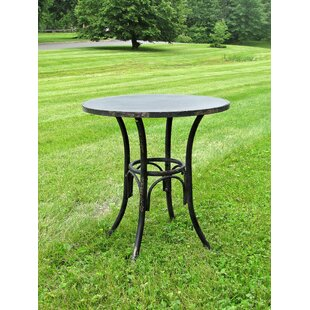 Kamen Iron Bistro Table By August Grove