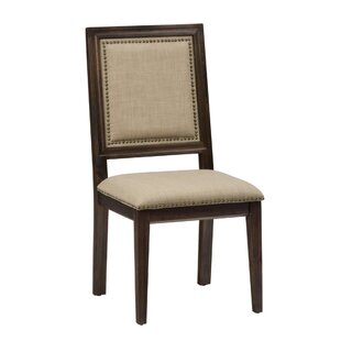 Darby Home Co Dino Nailhead Trim Upholstered Dining Chair (Set of 2)