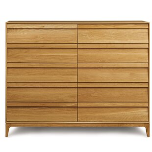 Top Reviews Rizma 10 Drawer Double Dresser by Copeland Furniture