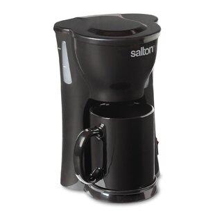 1-Cup Space Saving Coffee Maker