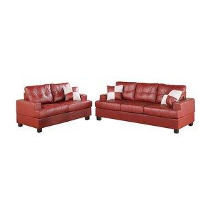 Red Living Room Sets