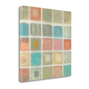 U0027Sea Glass Mosaic Tile Iu0027 Print On Canvas