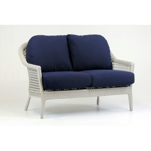 Monaco Loveseat with Cushion by South Sea Rattan