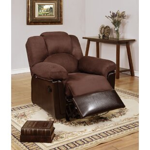 Cannella Manual Rocker Recliner Red Barrel Studio