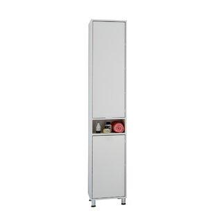37 X 192.5cm Free Standing Tall Bathroom Cabinet By Mercury Row