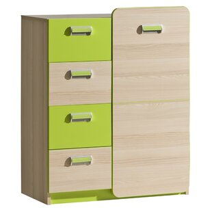 Crawford 4 Drawer Combi Chest By Isabelle & Max
