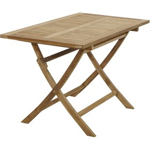 Willington Folding Teak Dining Table By Sol 72 Outdoor