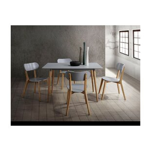 Kaeden Wooden 5 Piece Dining Table Set